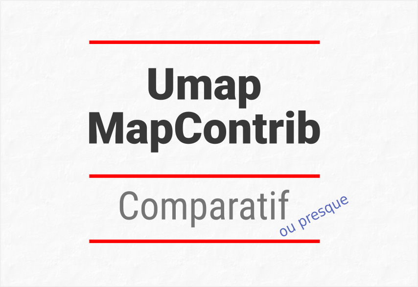 umap mapcontrib comparatif