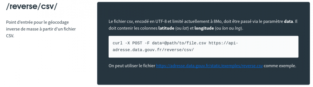 site adresse data gouv fr