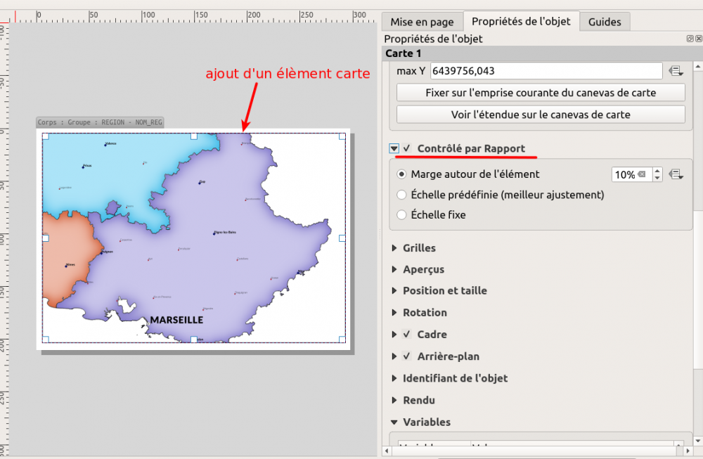 composeur de carte