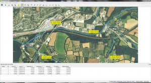 fenetre georeferencement