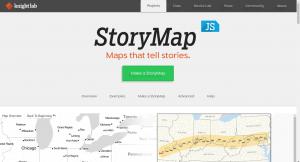site StoryMapJS