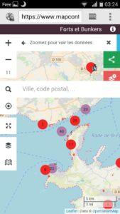 mapcontrib sur mobile
